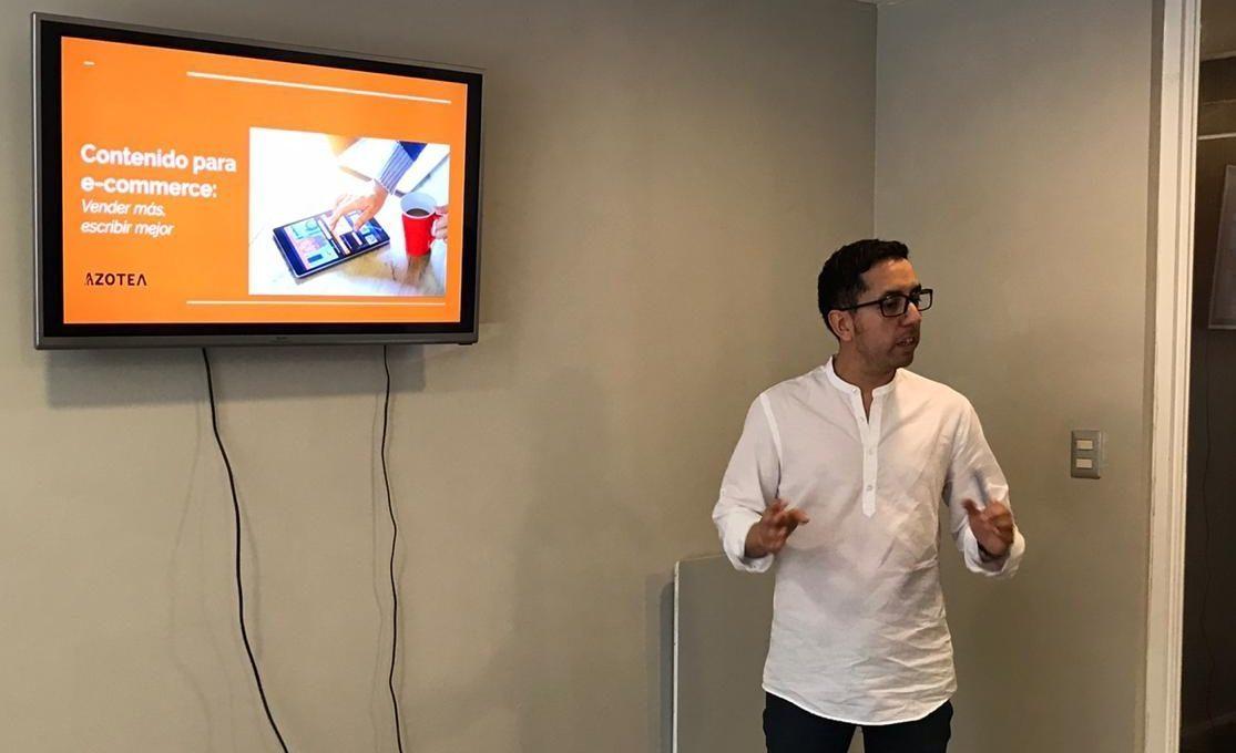 Charla de contenido para ecommerce en Denda - Agencia Azotea
